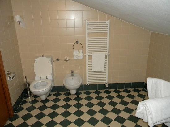 Hotel Cà Tron : The bathroom