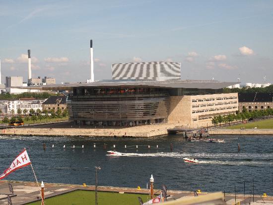 Copenhagen Admiral Hotel: vue depuis la chambre