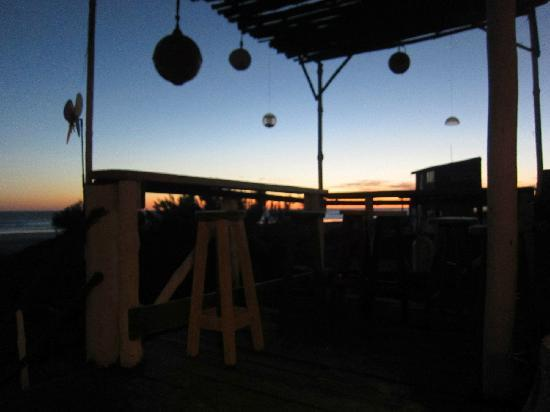 Cabo Polonio, Uruguay: view from deck @ Posada y Parador La Cañada