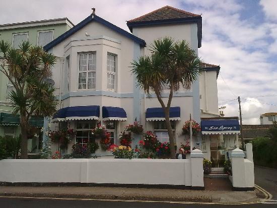 Sea Spray House : well kept patio garden