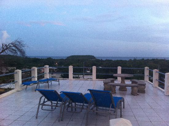 Acacia Guesthouse: View from the rooftop terrace