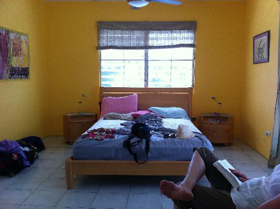 "Acacia Guesthouse: Our ""penthouse"" bedroom after settling in"