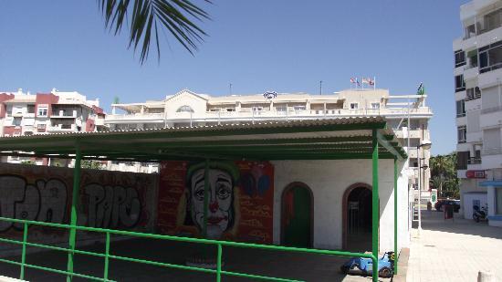 Gran Hotel Elba Motril: local donde debería haber playa