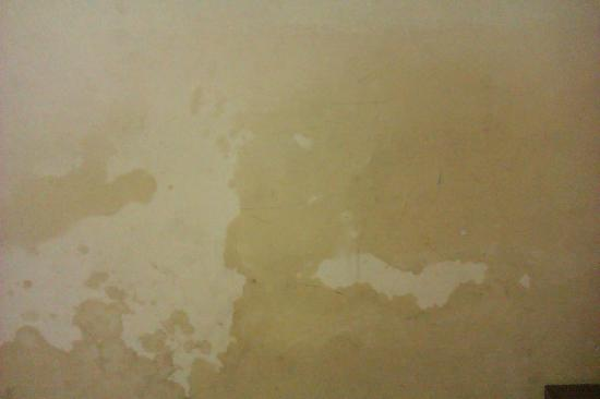 Hotel Banjara : wall in bad shape