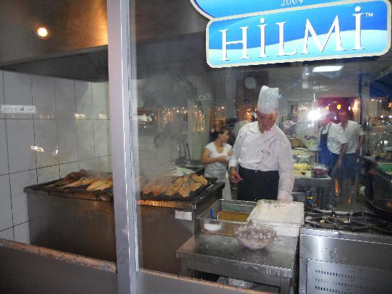 Hilmi Meat & Fish Restaurant: Kitchen