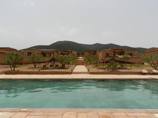 Terres d'Amanar: the pool area