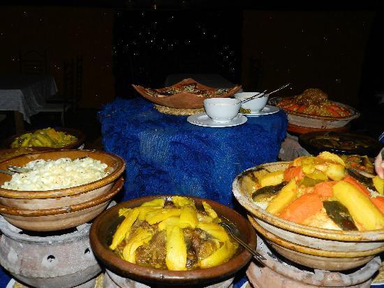 Tahanaout, Marokko: great dinner
