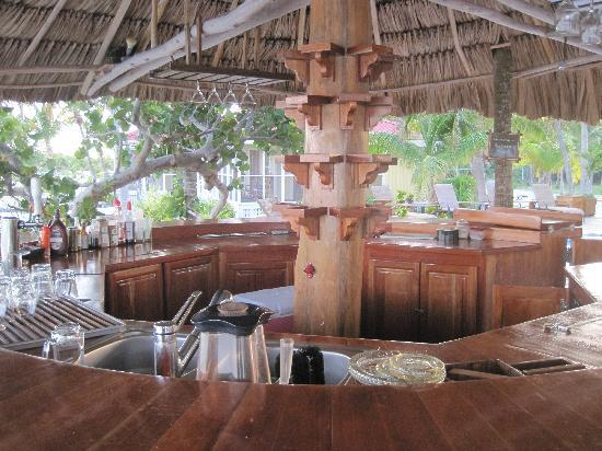 Turneffe Island Resort: Pool Bar