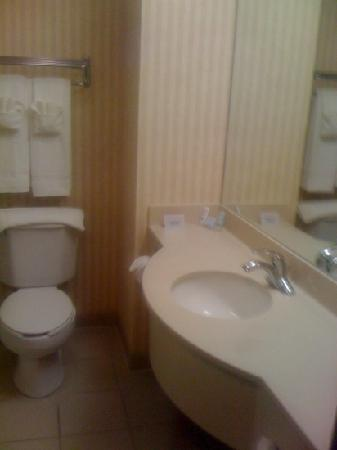 Sleep Inn & Suites : bathroom