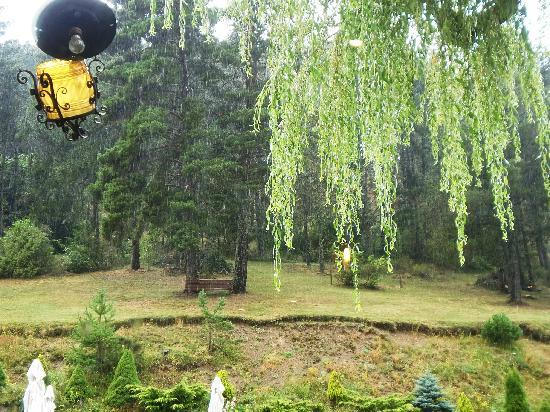 Roc Blanc: jardin