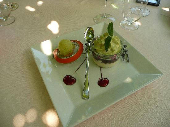 Lanterna Verde : Et que dire de ce dessert !