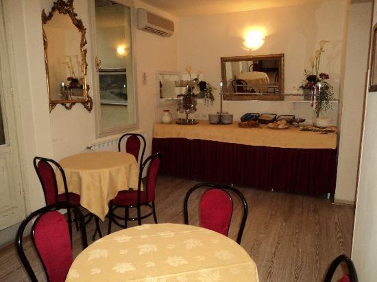 Hotel Spagna: La salle à manger