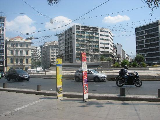Photo of Monument / Landmark Omonia Square at Athens, Greece
