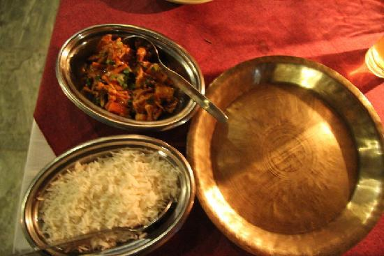 Thamel House Restaurant : Wild Boar with mixed spices