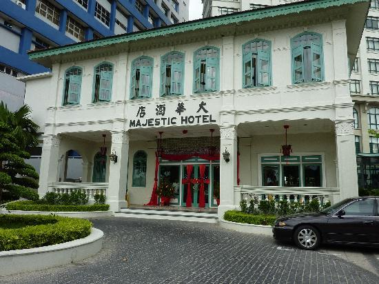 The Majestic Malacca: front of hotel