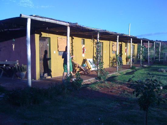 Chakana Hospedaje Rural: le bâtiment des chambres
