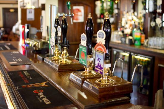 The Albert: A selection of local and popular ales