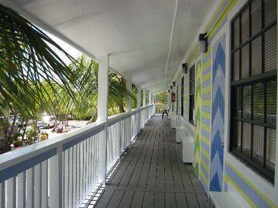Ibis Bay Beach Resort: balcon du 2ième où nous logions