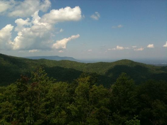 The Summit of Gatlinburg: mountain tops