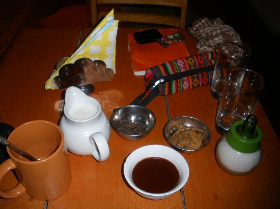 Le Chocolat Chaud - Fait Maison - Picture of ChocoMuseo, Cusco ...