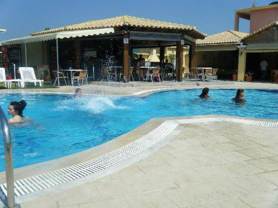 Pool Bar Picture Of Tzevenos Apartments Corfu Tripadvisor