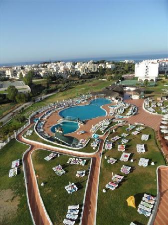 Hotel Paraiso de Albufeira: Vue from our balcony
