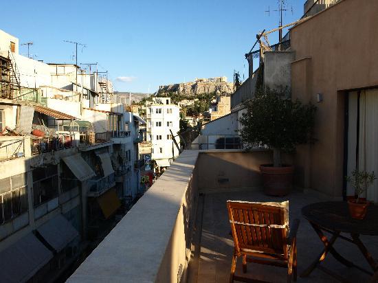 โรงแรมบูติคโอ & บีเอเธนส์: The View