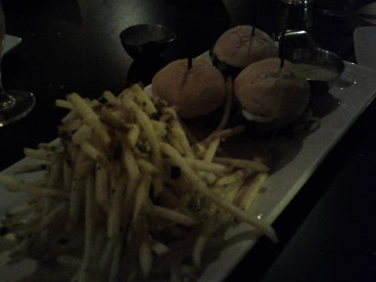Margaux: fries n sliders