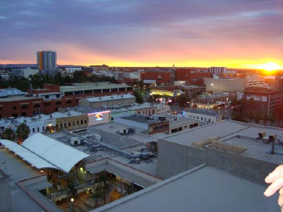 Oaks Horizons: View from balcony