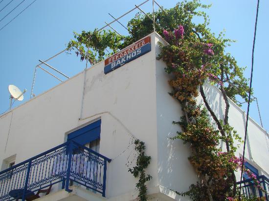 Hotel Vakhos : Вид на крышу