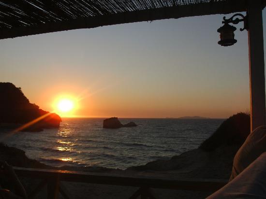 Zafiris Hotel: Sunset from the Zafaris
