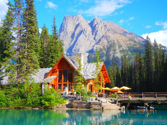 Emerald Lake Lodge: Still the most spectacular view...