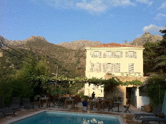 Hotel Mare e Monti : vue de la piscine