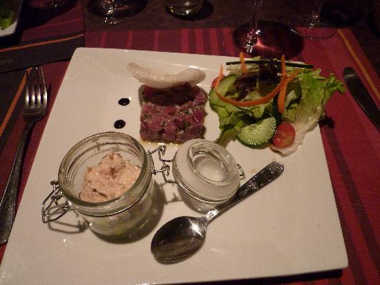 Le Panier des 4 Saisons: the tuna tarta