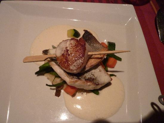 Le Panier des 4 Saisons: sea bass and scallop