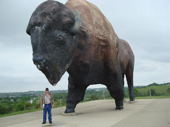 Jamestown, ND: Giant bison