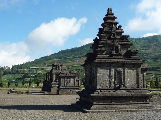 Dieng Plateau - Arjuna Temple complex