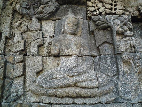 写真ボロブドゥール寺院遺跡枚