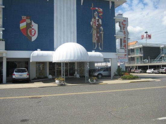 The Crusader Oceanfront Family Resort: Main entrance Crusader Motel