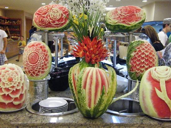 Aquafantasy Aquapark Hotel & SPA: Watermelon Art
