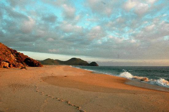 Hacienda Todos Los Santos: Beach