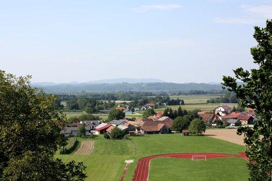 Landschaft bei Gorisnica