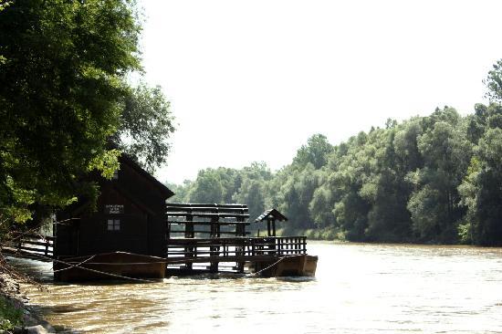 Gorisnica, Slovénie : Ausflugsziel: Mühle in der Mur