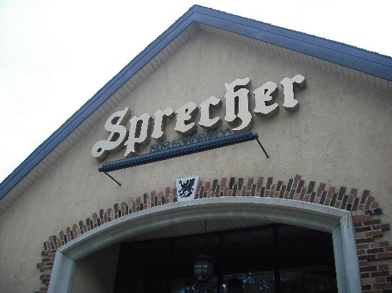 Sprecher Brewing Co.: Outside sign!