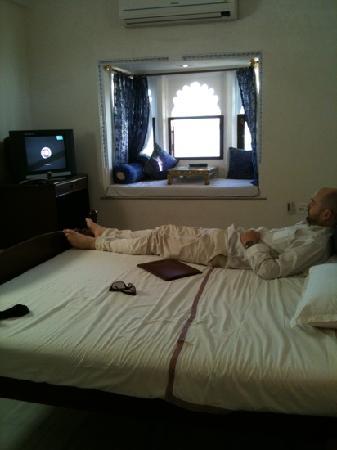 Hotel Sargam Sadan: relaxing