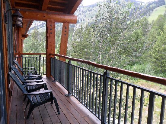 Teton Club: Deck