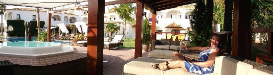 Cerro da Marina Hotel: chill-out zone