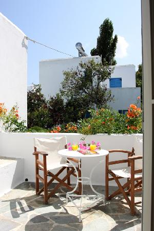 Hotel Aegean Village: private balcony