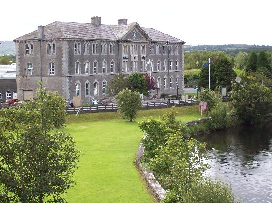 Belleek pottery factory.
