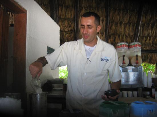 Laguna Mar: our fave  bartender